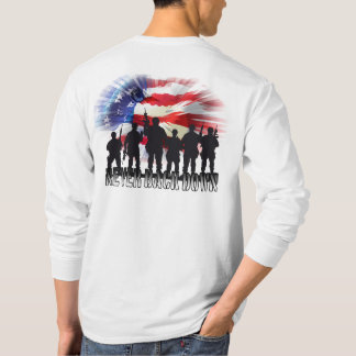 Patriotic Never Back Down T-Shirt