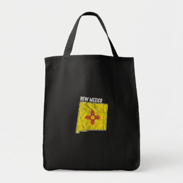 Patriotic New Mexicans New Mexico Nationalism USA Tote Bag