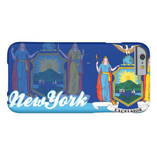 Patriotic New York State Flag Barely There iPhone 6 Case