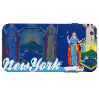 Patriotic New York State Flag Tough iPhone 6 Plus Case