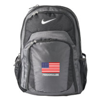 Patriotic Nike backpack with American flag