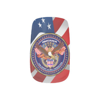 Patriotic or Veteran 2 Designs Minx® Nail Wraps