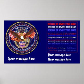 """Patriotic or Veteran 60""""x34"""" poster edit"""