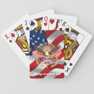 Patriotic or Veteran Not Bicycle Playing Cards