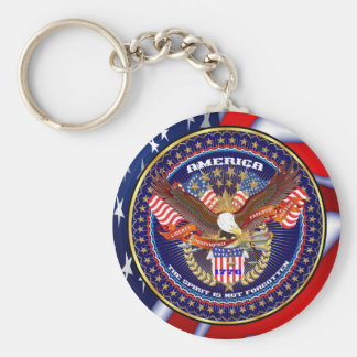 Patriotic or Veteran Pick one View Artist Comments Basic Round Button Keychain
