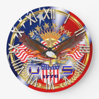 Patriotic or Veteran Pick one View Artist Comments Large Clock