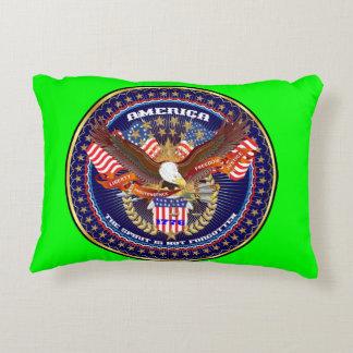 Patriotic or Veteran View About Design Decorative Pillow