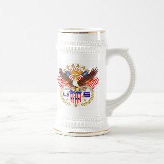 Patriotic or Veteran View Artist Comments Beer Stein
