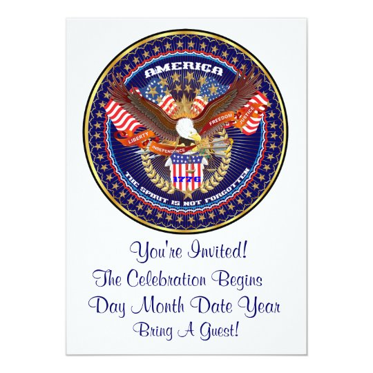 Patriotic or Veteran View Artist Comments Card