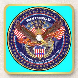 Patriotic or Veteran View Artist Comments Coasters