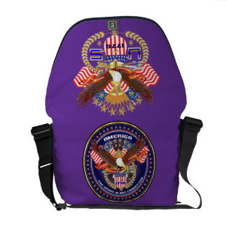 Patriotic or Veteran View Artist Comments Courier Bags