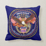 Patriotic or Veteran View Artist Comments Throw Pillows