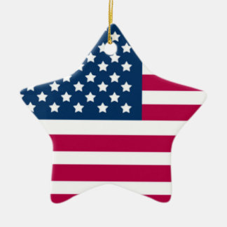 PATRIOTIC ORNAMENTS - AMERICAN FLAG STARS - GIFTS