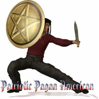 Patriotic Pagan American Cut Out