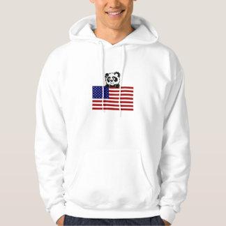 Patriotic Panda Hoodie