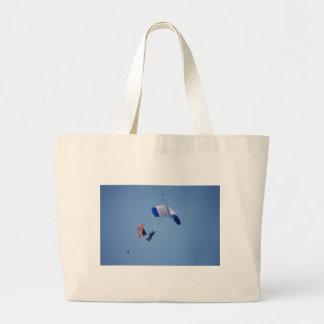 Patriotic Parachuter Canvas Bag