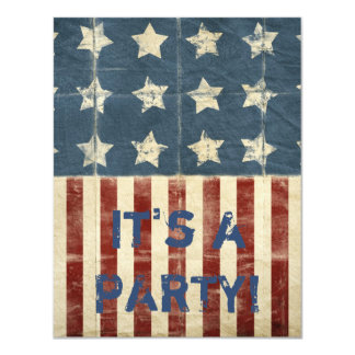 Patriotic Party Card