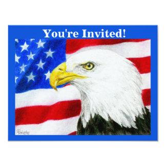 """Patriotic Party Invitation - """"American Pride"""""""