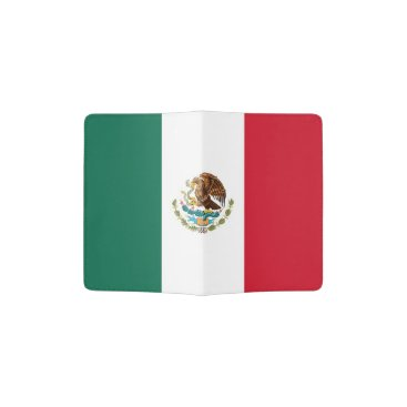 AllFlags Patriotic Passport Holder with flag of Mexico