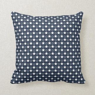 patriotic pattern throw pillow