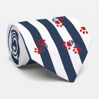 Patriotic Paws Neck Tie