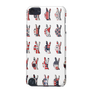 Patriotic Peace iPod Touch 5G Covers