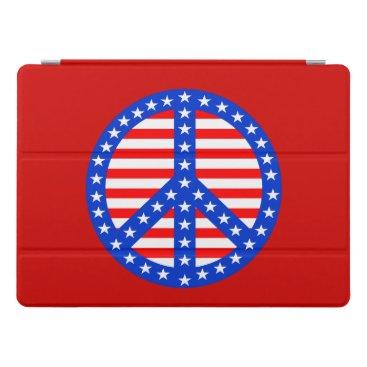 USA Themed Patriotic Peace iPad Pro Cover