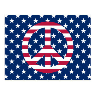 Patriotic Peace Post Cards