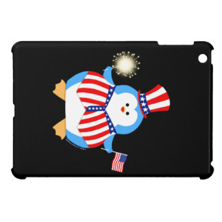 Patriotic Penguin Case For The iPad Mini