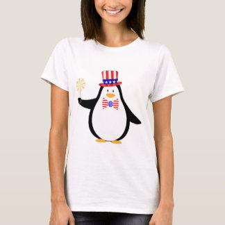 Patriotic Penguin T-Shirt