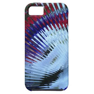 Patriotic Petunia Blow Out iPhone 5/5s iPhone SE/5/5s Case