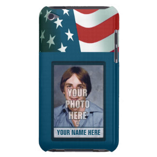 Patriotic Photo Frame iPod Touch Case