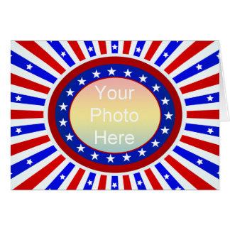 Patriotic Photo Frame Template