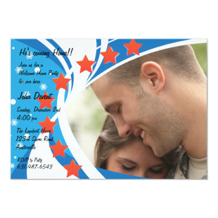 Patriotic Photo Holiday Card at Zazzle