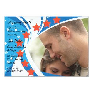 Patriotic Photo Holiday Card at Zazzle