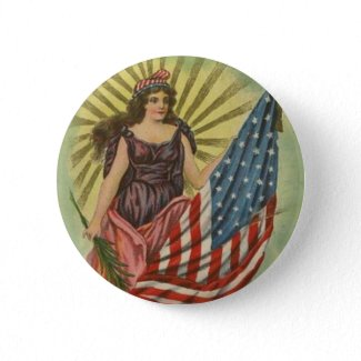Patriotic                                                 Pin~Lady Liberty~Fourth of July