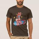 Patriotic Pin Up Girl T-Shirt