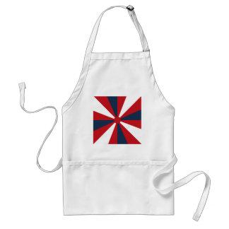 Patriotic Pinwheel Adult Apron