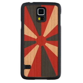 Patriotic Pinwheel Carved® Cherry Galaxy S5 Slim Case