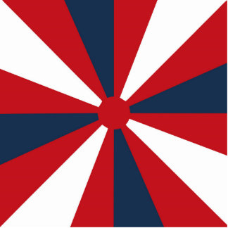 Patriotic Pinwheel Cutout
