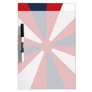 Patriotic Pinwheel Dry-Erase Board