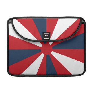 Patriotic Pinwheel Sleeve For MacBook Pro