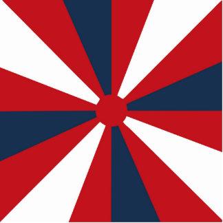 Patriotic Pinwheel Statuette