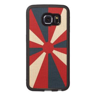 Patriotic Pinwheel Wood Phone Case