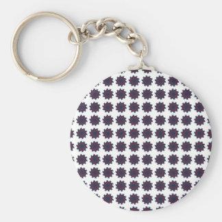 Patriotic Pinwheels Keychain