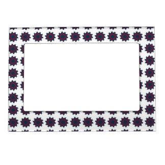 Patriotic Pinwheels Magnetic Picture Frame