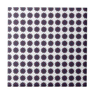Patriotic Pinwheels Tile