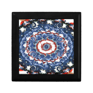 Patriotic Plasticity Jewelry Box
