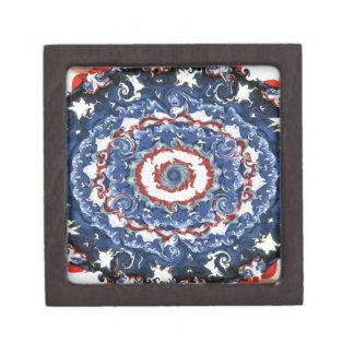 Patriotic Plasticity Jewelry Box
