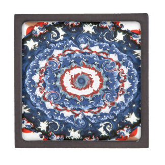 Patriotic Plasticity Keepsake Box